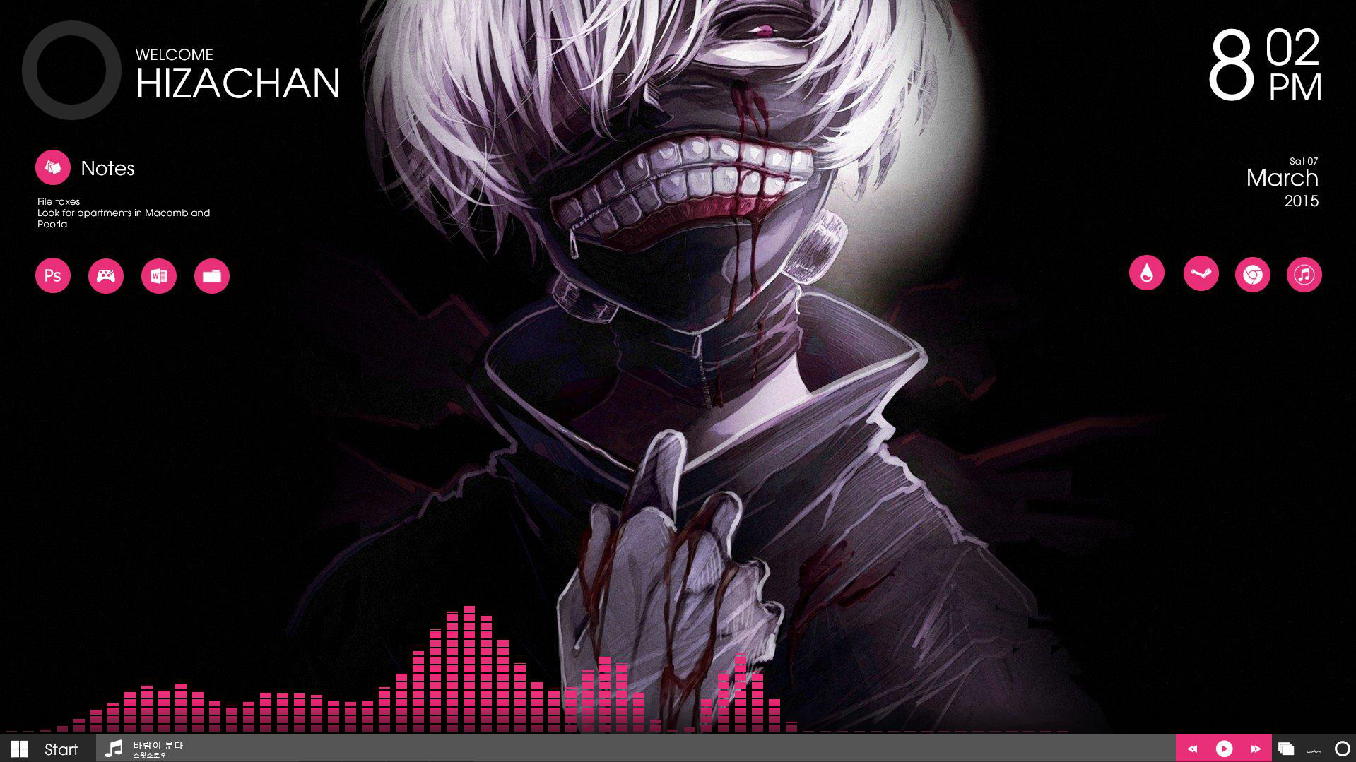 Tokyo Ghoul by hizachan