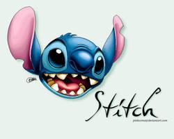 Stitch by pinkcoma