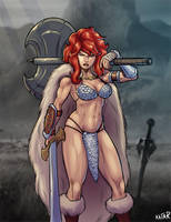 Red Sonja by M-Katar