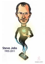Steve Jobs by gilderic