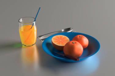 Oranges by arisuonpaa