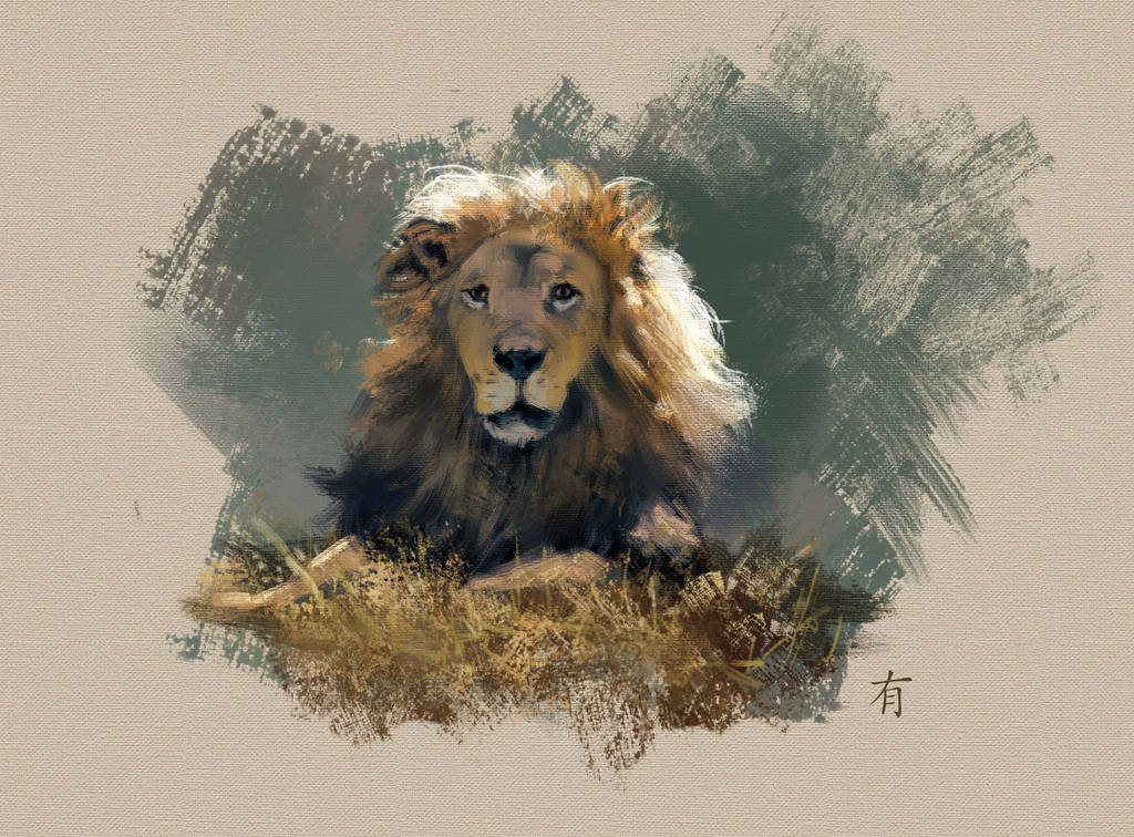 Lion by arisuonpaa