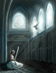 Prayer Before Battle by arisuonpaa