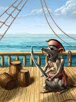 Mighty Pirate by arisuonpaa