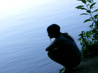 Thinking serenity by EchoBinary