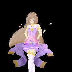 Galaxy Girl (OC) by KyuaFlora