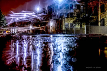Industrial Night Dream-Natural Leaks by rimete