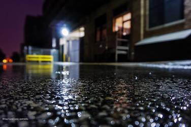 Industrial Night Dreams-Focal Point Rain by rimete