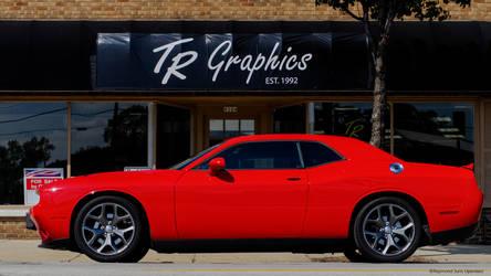Hemi Challenger In Red by rimete