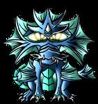 Little Water Dragon by InfinityFangX