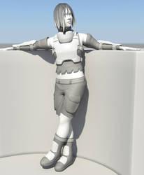 Advanced 3D Modeling Final by Shimmering-Sword