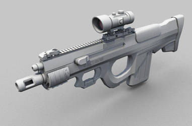 CQB Rifle Variant by Shimmering-Sword