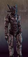 Elemental Power Armor by Shimmering-Sword