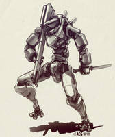 More Bio Mech by Shimmering-Sword
