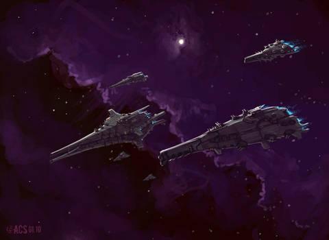 Flagship Fleet by Shimmering-Sword
