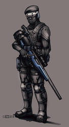 Contact - Scout Sniper by Shimmering-Sword