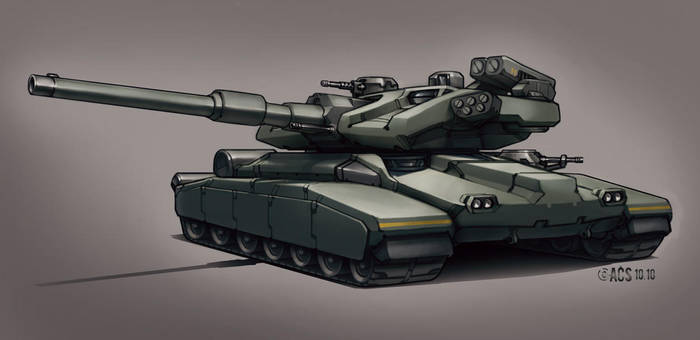 Contact - Main Battle Tank by Shimmering-Sword