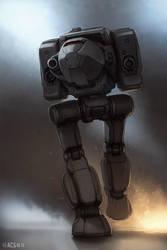 Mech Warrior - Stalker by Shimmering-Sword
