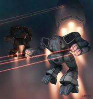 Battletech - Hot Drop by Shimmering-Sword