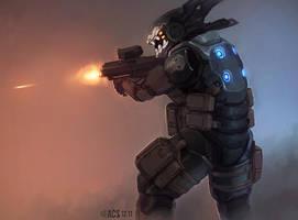 Dead Ranger - Merc by Shimmering-Sword