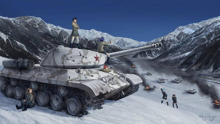 Commission - World of Tanks by Shimmering-Sword