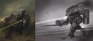 Battletech - Ice Ferret - Striker by Shimmering-Sword