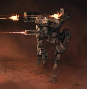 Battletech - Locust by Shimmering-Sword