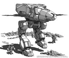 Battletech - Stalker II by Shimmering-Sword
