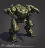 Mecha Front - Osprey by Shimmering-Sword