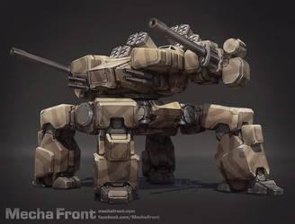 Mecha Front - Kodiak by Shimmering-Sword