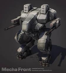 Mecha Front - Blackfrost Heavy by Shimmering-Sword