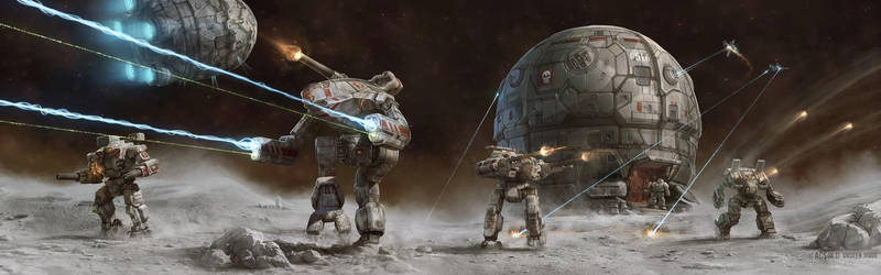 Battletech - Unseen Moon by Shimmering-Sword