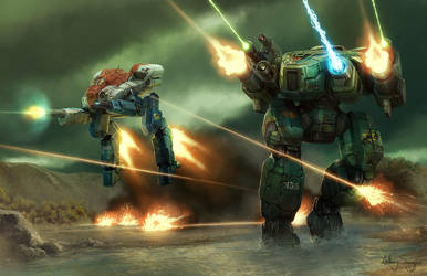 Battletech - Heavy Air by Shimmering-Sword
