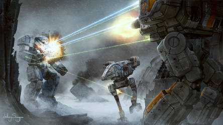 Mechwarrior - Bait and Switch by Shimmering-Sword