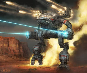 Battletech - Mad Cat by Shimmering-Sword