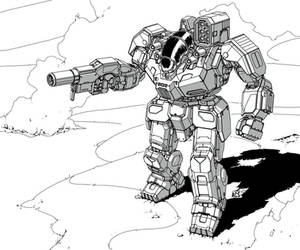 Battletech - BattleMaster by Shimmering-Sword