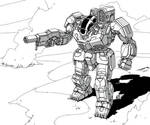 Battletech - BattleMaster by Shimmering-Sword