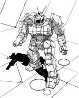 Battletech - Griffin by Shimmering-Sword