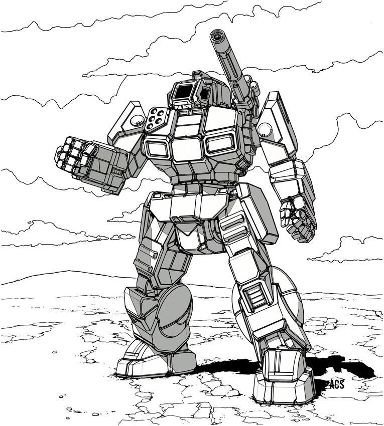 Battletech - Shadow Hawk by Shimmering-Sword