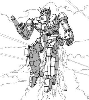 Battletech - Wasp by Shimmering-Sword