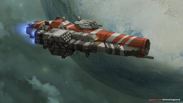 Yatagan Class Destroyer by Shimmering-Sword