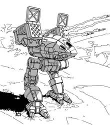 Battletech - Catapult by Shimmering-Sword