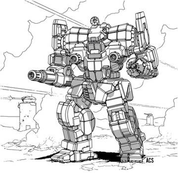 Battletech - Awesome by Shimmering-Sword