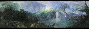 Jungle Forest Layout Rain by adamrobertsdesigns