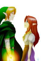 Link x Malon by Vorono
