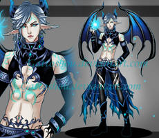 MALE ADOPT 94  [ Auction ] [ CLOSED ] by GattoAdopts