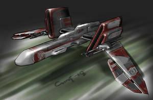Republic bomber by CucumberBoy