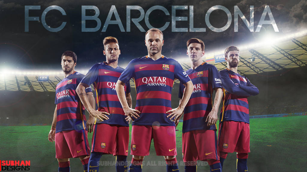Fc Barcelona 4k Wallpaper 2015 16 By Subhan22 On Deviantart