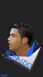 Ronaldo-ART-POLYART-LOWPOLY-POP-2016-REAL-MADRID-M by subhan22