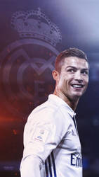 Cristiano Ronaldo 2017 lockscreen wallpaper mobile by subhan22